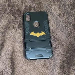 IPhone X Batman case w kick stand